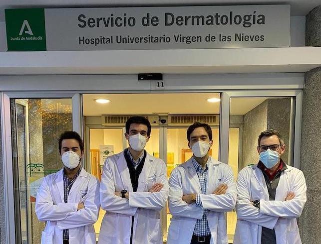 De izda. a derecha: Luis Salvador; Salvador Arias; Alejandro Molina; y Carlos Cuenca.