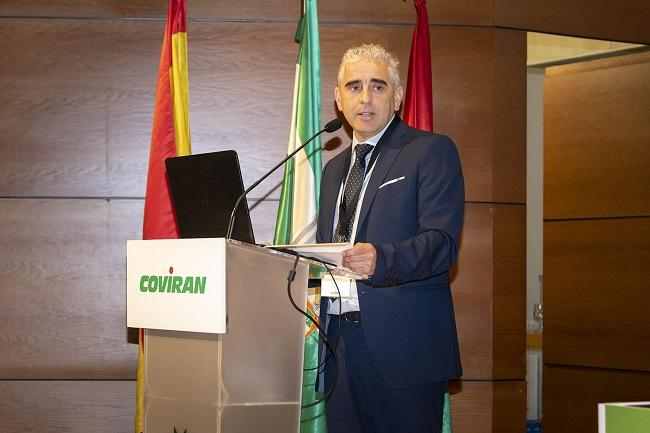 Rafael Cortés durante su intervención en la asamblea general de socios.