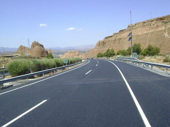 Una imagen de la autovía tras los trabajos.