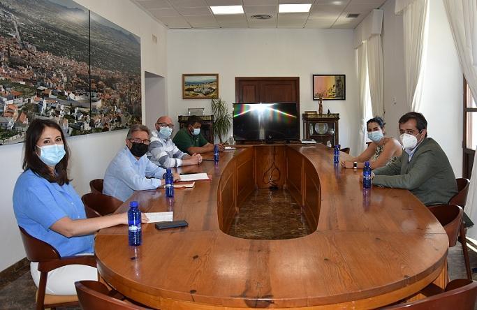 Reunión entre Ayuntamiento de Baza y Enel Green Power (Endesa).