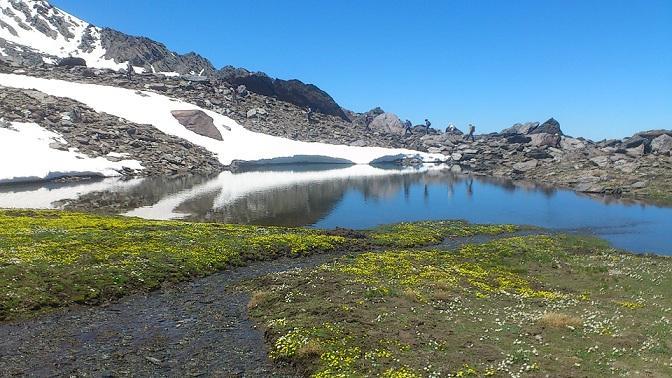 Lagunillos de la Ermita, en Sierra Nevada.