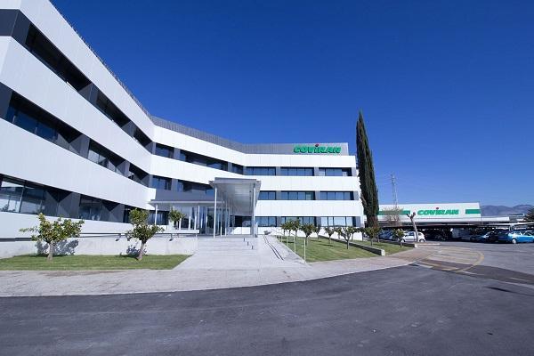 Fachada de la sede central de Covirán, en Atarfe.