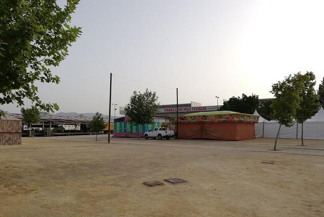Recinto ferial de Huétor Tájar.