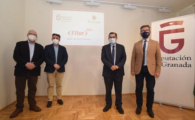 Presentación de la participación de Granada en FITUR.