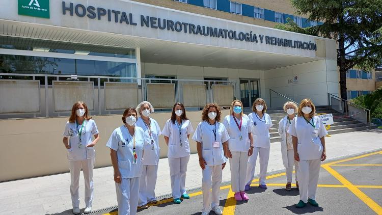 Foto de grupo de las profesionales de Imagen al Diagnóstico premiadas.