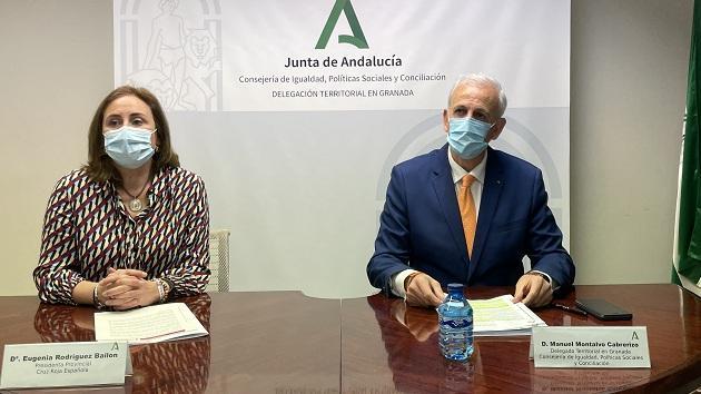 Eugenia Rodríguez-Bailón y Manuel Montalvo.