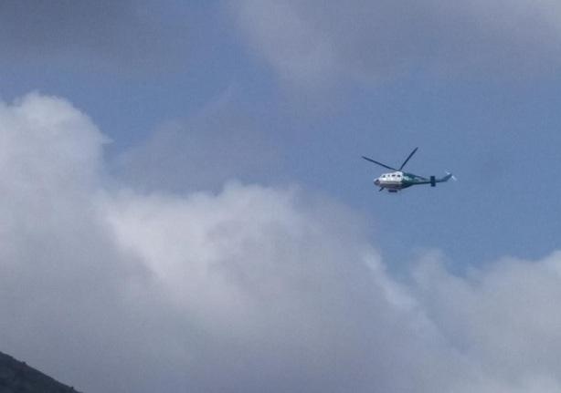 Helicóptero del Infoca.