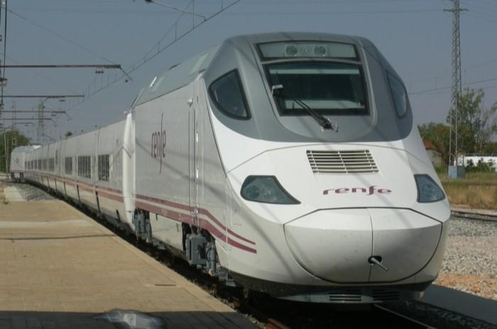 Tren Talgo.