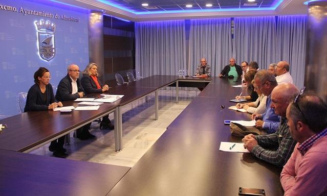 Reunión de la Mesa del Agua de Almuñécar.