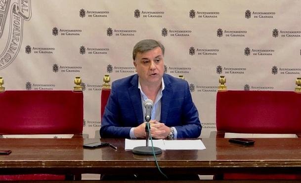 El concejal Francisco Fuentes.