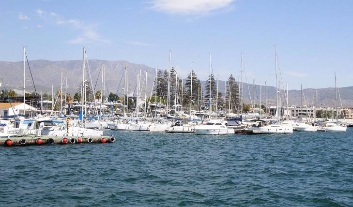 Zona náutica del puerto motrileño.