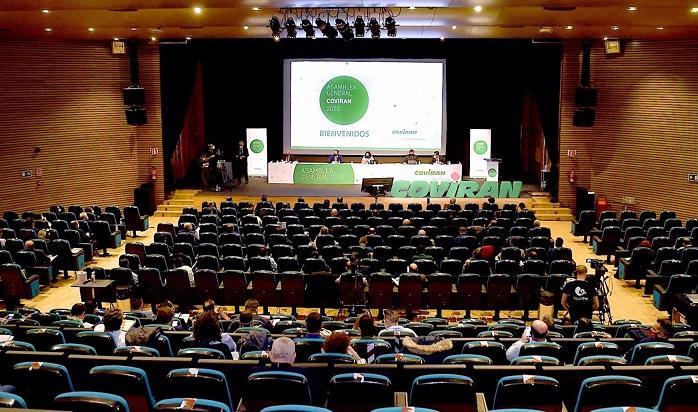 Asamblea de Covirán celebrada este domingo.