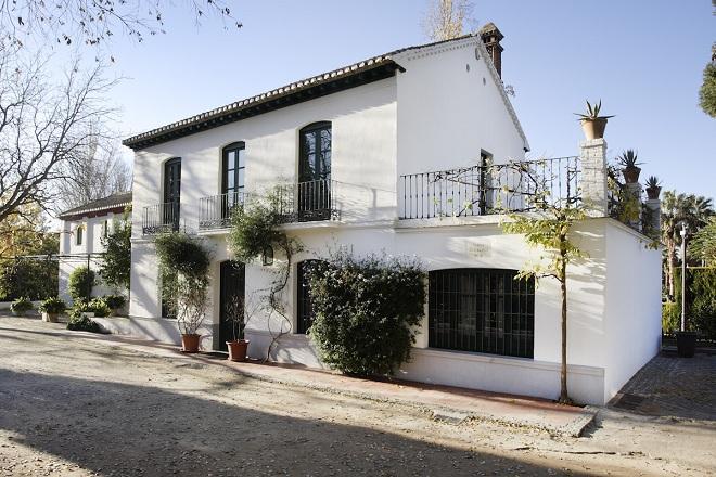 Huerta de San Vicente, en el Parque García Lorca.