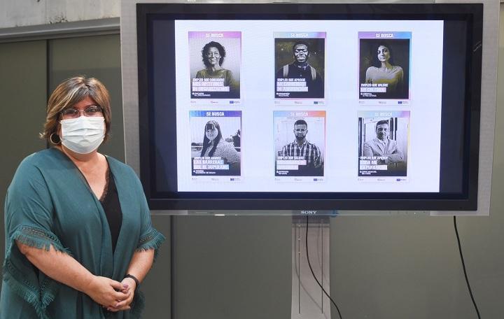 Ana Muñoz presenta los resultados del programa Empleo III.