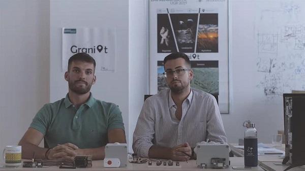 Los dos emprendedores han finalizado recientemente sus estudios en la ETS de Ingenierías Informáticas y Telecomunicación.