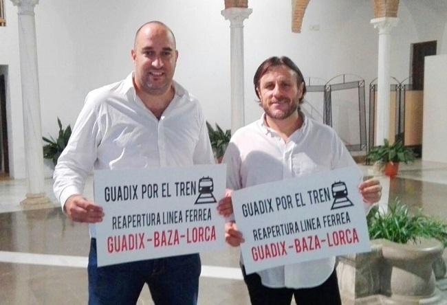 Francisco Garzón Contreras (i) con Antonio Francisco Martínez.