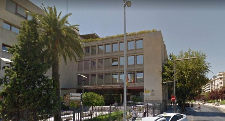 Sede de la Agencia Tributaria en Granada