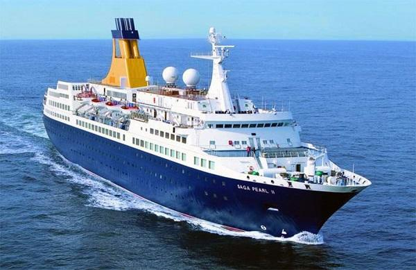 Imagen del crucero Saga Pearl II.