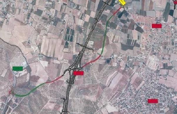 Imagen del tramo distribuida por el Ministerio.