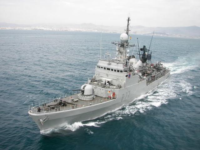 La patrullera Infanta Cristina estará en el Puerto y podrá ser visitada.