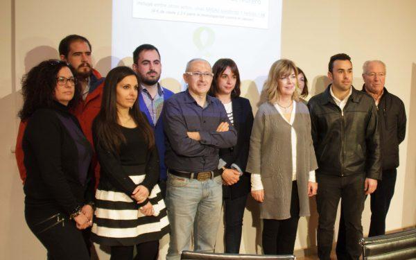 Organizadores de 'Solidaridad entre montañas'.