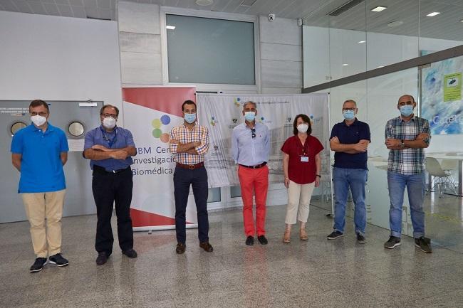 En la fotografía, los investigadores de la UGR que participan en el proyecto.