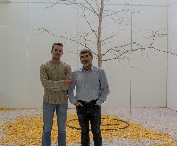 Los investigadores de la UGR Rafael Román-Caballero y Juan Lupiáñez, autores de este trabajo.