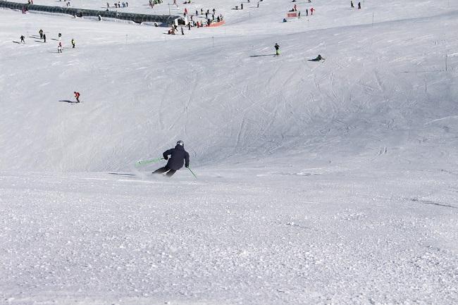 El dominio esquiable alcanza los 73 kilómetros.