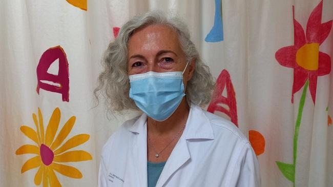 La especialista de Pediatría del Hospital Universitario Virgen de las Nieves, Ana Martínez-Cañavate.