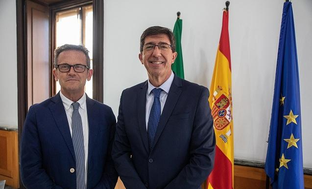 Gustavo Rodríguez y Juan Marín.