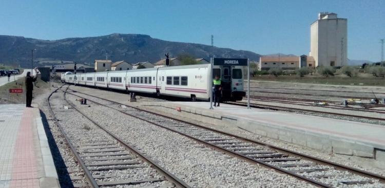 Estación de Moreda.