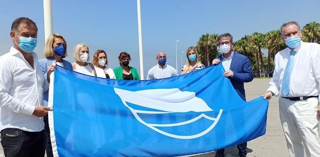 Entrega de la Bandera Azul en Motril.