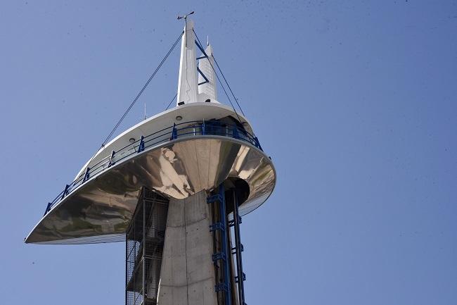 Torre de observación del Parque de las Ciencias.