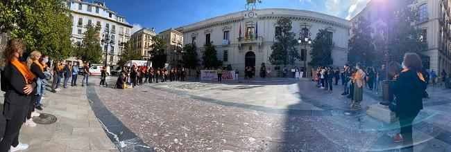 Concentración este viernes en la Plaza del Carmen.