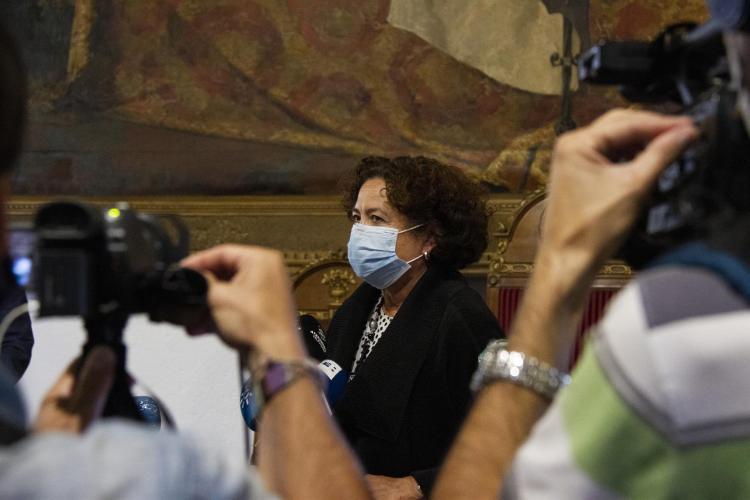 Pilar Aranda en una imagen de archivo.