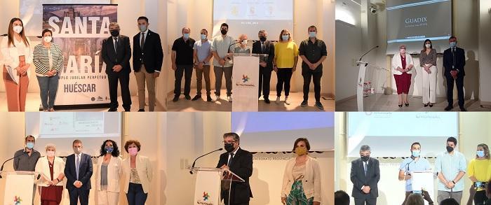 Presentaciones del Marquesado y de Húescar, y los municipios de Guadix, Huéscar, Benamaurel, Zújar y Cúllar,