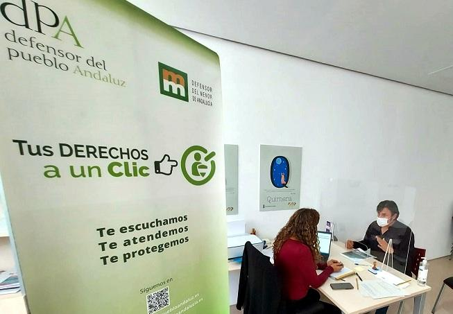 La Oficina del Defensor está desplazada estos días a las comarcas de Guadix y Baza.