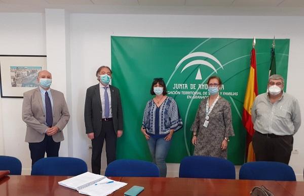 Reunión de los representantes de CSIF con el delegado de Salud.