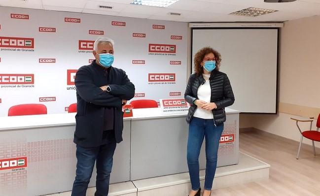 Ricardo Flores y Nuria López.