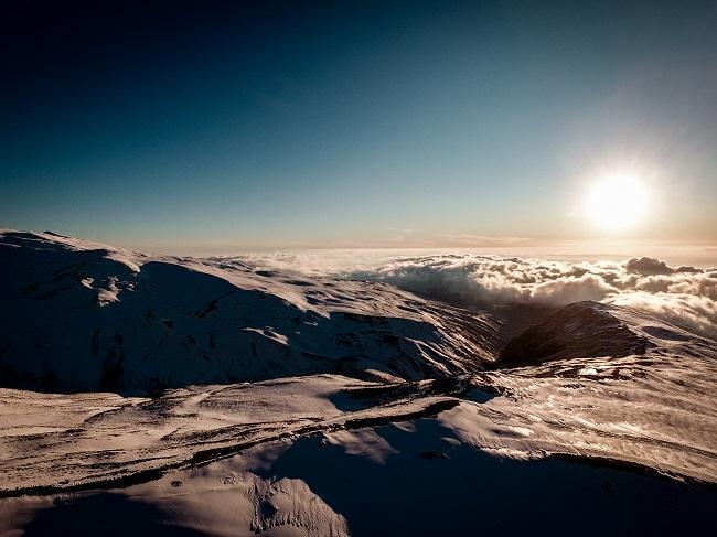 Espectacular imagen de Sierra Nevada.