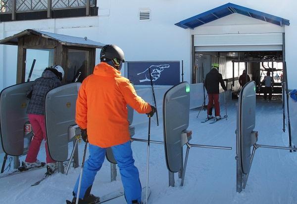 Sierra Nevada renueva los sistemas digitales de acceso a la estación.