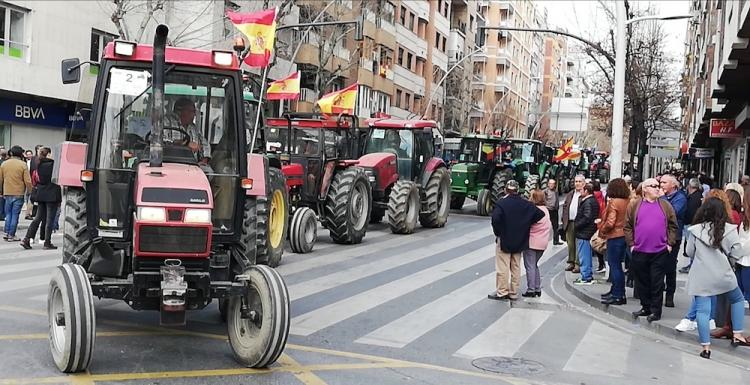 Tractores, en Doctor Olóriz.