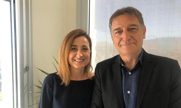 Blanca Gutiérrez y Jorge Cervilla.
