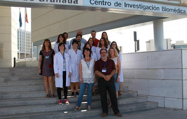 Equipo científico de la UGR que ha realizado el trabajo.