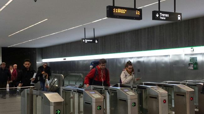 Los transbordos gratuitos entre Metro y bus estarán operativos a final de junio.