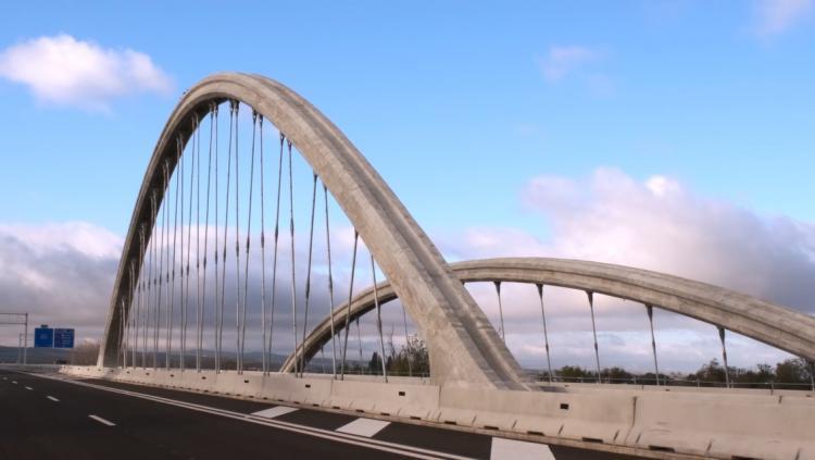 Viaducto de la Segunda Circunvalación sobre el río Genil.