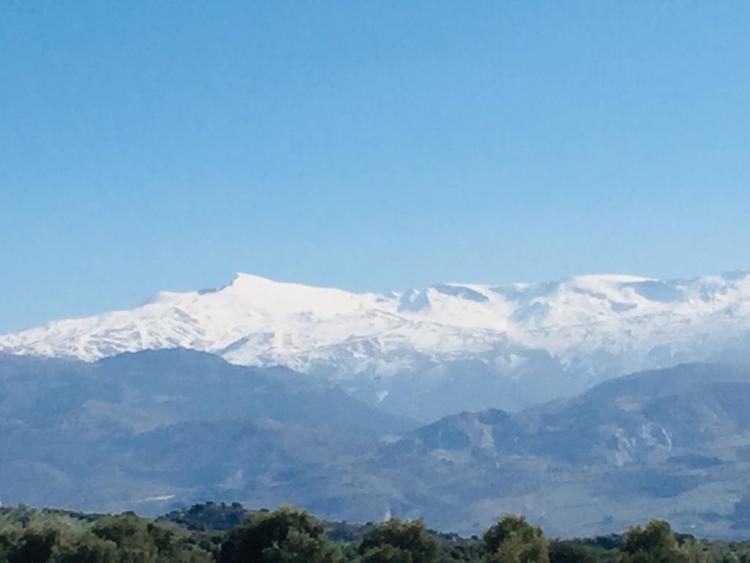 Vista de Sierra Nevada.