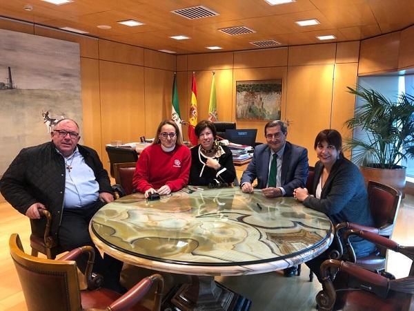 El convenio se ha firmado en la sede de la Diputación.