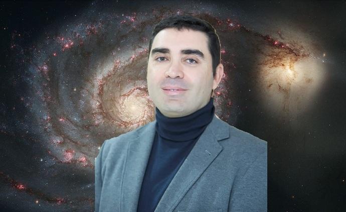 El astrónomo ciego Enrique Pérez Montero.