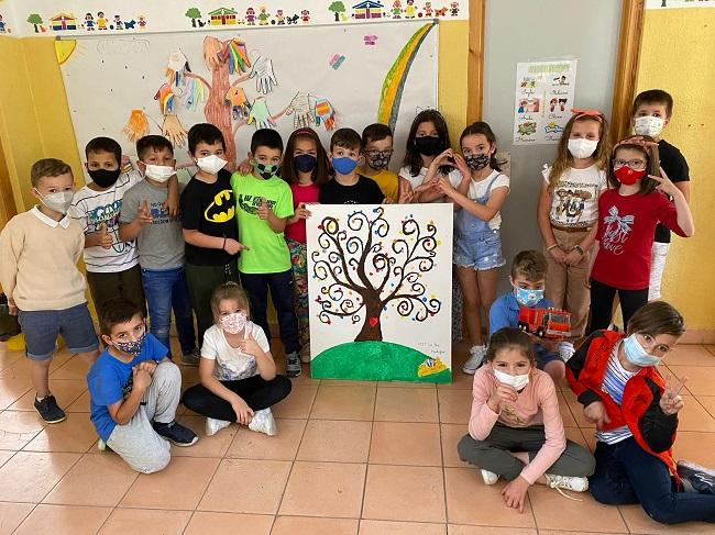 Escolares que han participado en el proyecto.